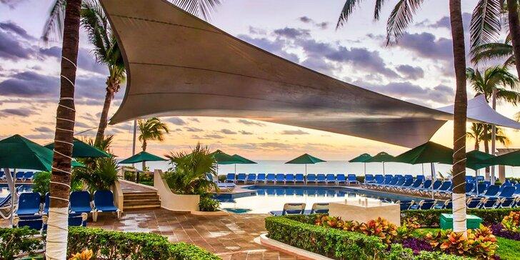 Dokonalý relax v Mexiku: 7–13 nocí v 4* hotelu s all inclusive a posilovnou