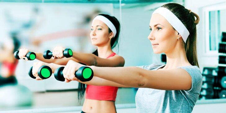 Vstupy do dámského fitka, které můžete využít na libovolné cvičení a služby