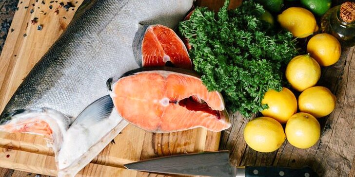 Pochutnejte si: cca 2 či 2,5 kg mraženého divokého lososa keta z USA