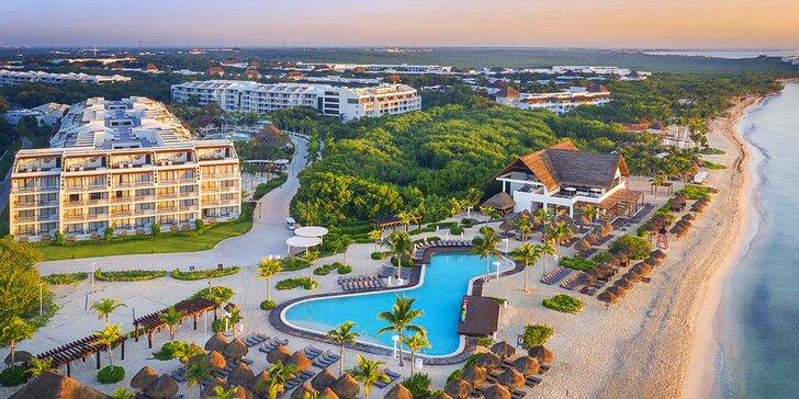 Rodinná dovolená v Mexiku: 7–13 nocí v 4* resortu, all inclusive a aquapark