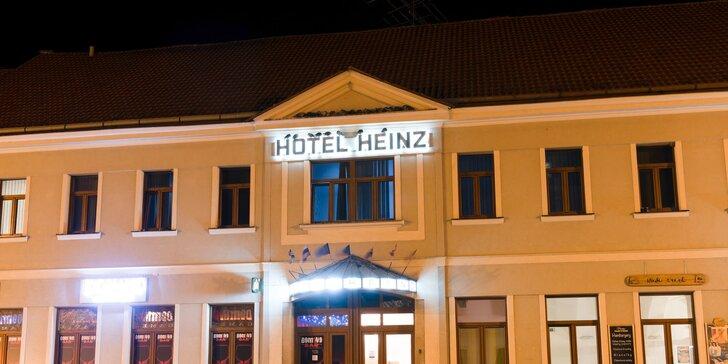 Hotel Heinz na Mírovém náměstí na Dobříši