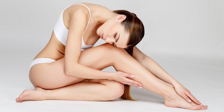 Sametová kůže za pár minut: Depilace horkým tělovým voskem dle výběru
