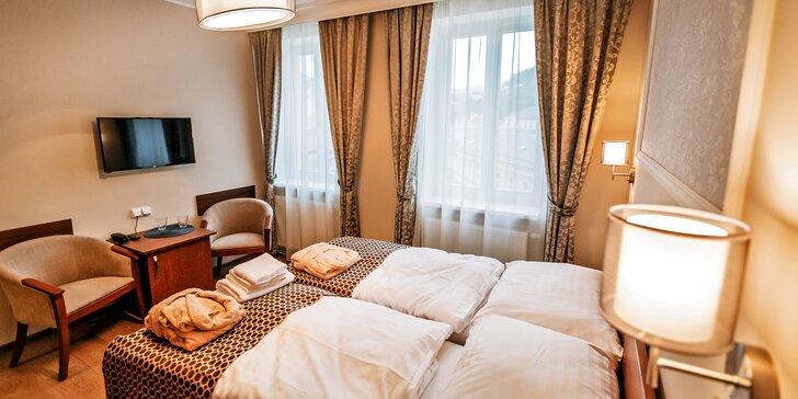 Relax v centru Karlových Varů: 3 wellness procedury, pobyt možný přes svátky