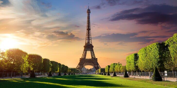 Jarní Paříž: letenka, 3x nocleh blízko metra a průvodce pro malou skupinu