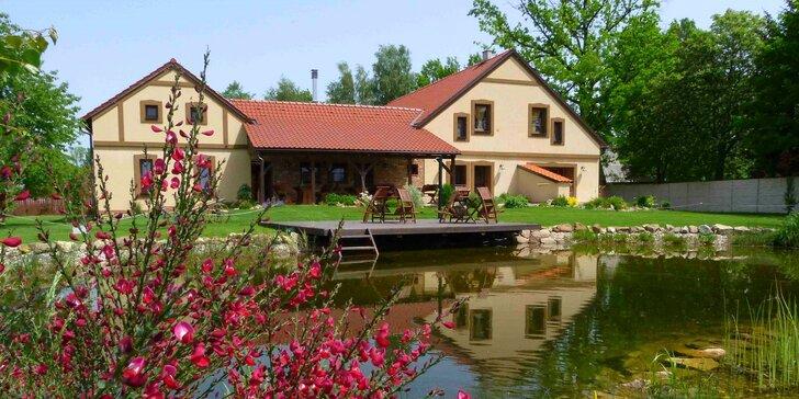 Pohodová dovolená v apartmánu či bungalovu v jižních Čechách