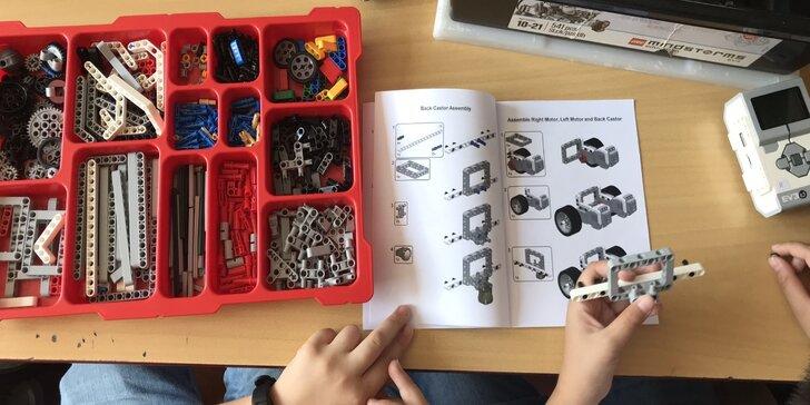 Lego robotika Mindstorms kroužek pro děti v KIDDŮM – pro pokročilé