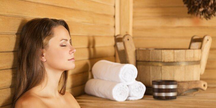 Relax v privátní sauně: vstupy pro jednoho i pro dva