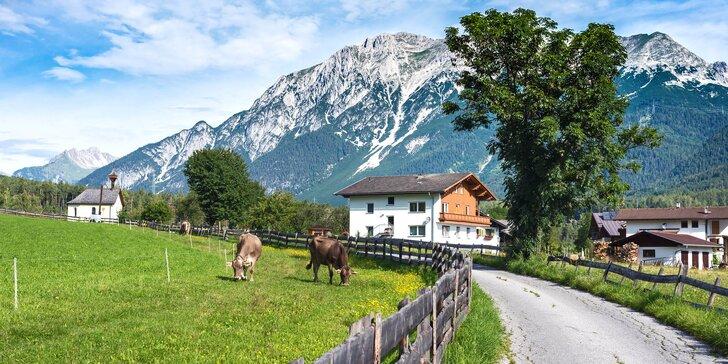 Do rakouských hor: aktivní pobyt s polopenzí, slevovou kartou i wellness