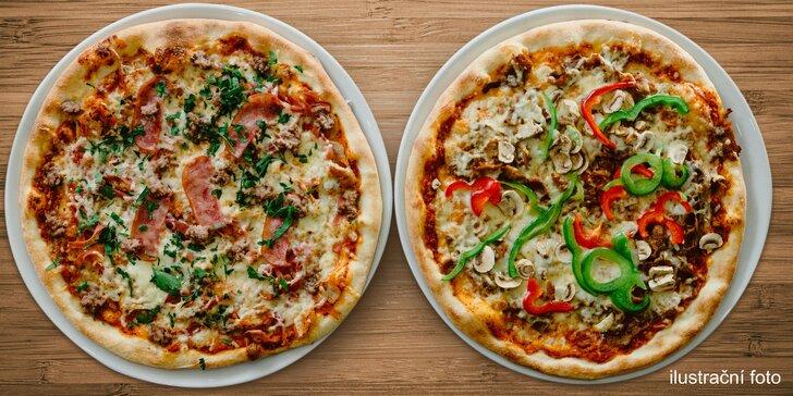 Zajděte na pizzu do La Fonduty: 2 libovolné kousky z pestré nabídky