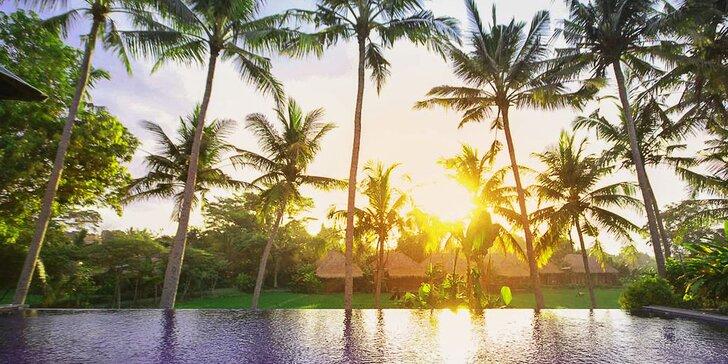 Skutečný relax v 4* resortu na Bali: 6–12 nocí se snídaní, lekcemi jógy a spa