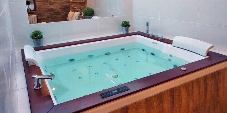 2 hodiny v privátním wellness centru s vířivkou i saunou a třeba i sektem