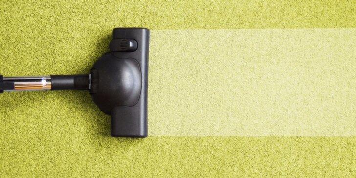 Profesionální čištění koberců nebo sedacích souprav u vás doma