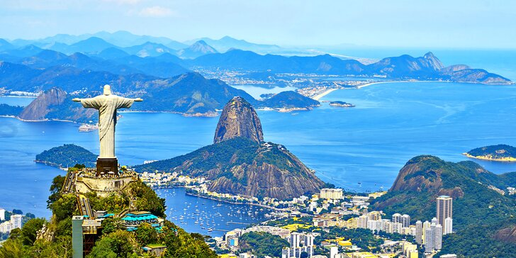 Záloha na letecký zájezd do Ria de Janeira: 8 nocí v hotelu, pláže i výlety