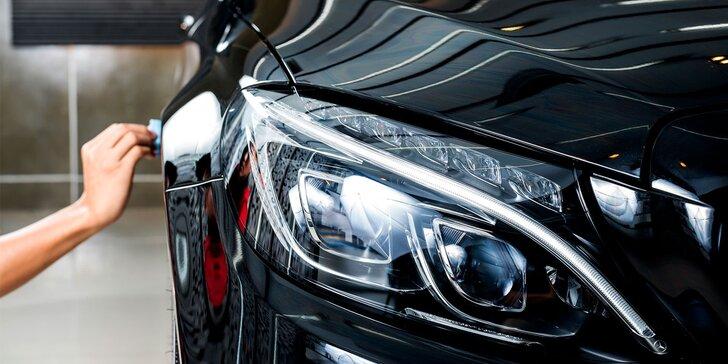 Péče o auto: renovace světlometů nebo laku karoserie v Prostějově