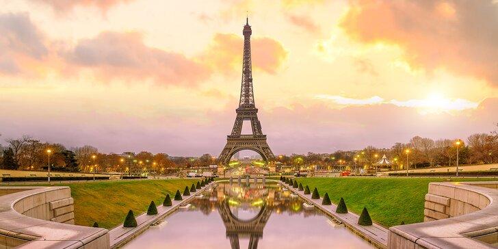 Franzouzská romance: 1–3 noci se snídaní v hotelu Apogia v Paříži