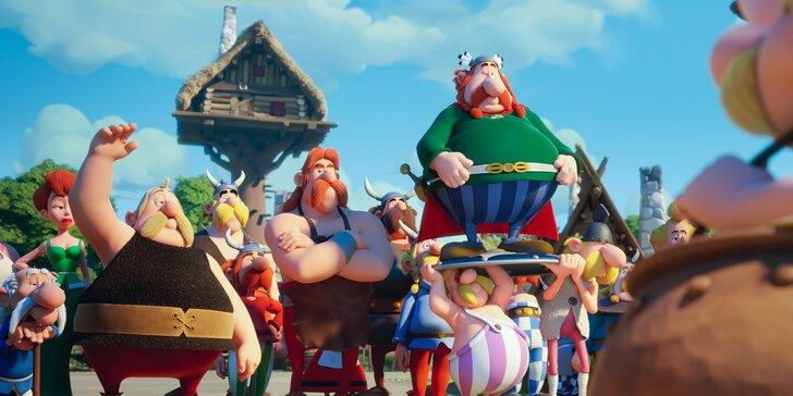 2 vstupenky na rodinný animák Asterix a tajemství kouzelného lektvaru