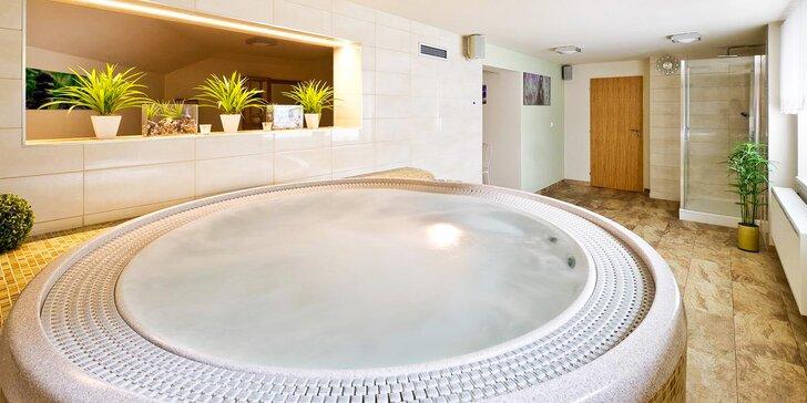 3denní romantický wellness pobyt s možností sauny, vířivky i masáže
