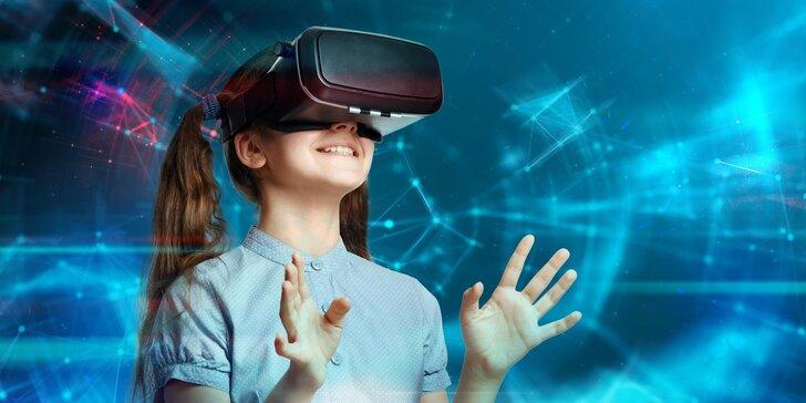 Virtuální zážitky pro malé i velké: 20, 50 i 110 minut nebo permanentka