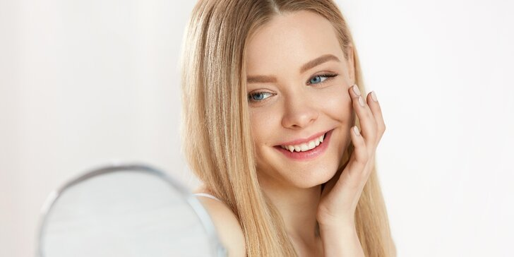 Zářivá pleť: základní i kompletní kosmetická péče vč. závěrečné masáže