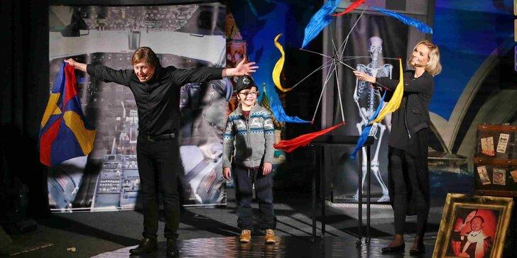 S kouzly kolem světa! - představení pro děti s Pavlem Kožíškem