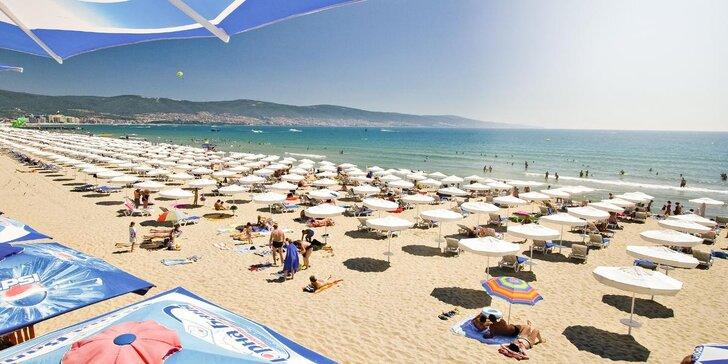 Letecky do Bulharska na Slunečné pobřeží: polopenze, bazén s dětskou částí