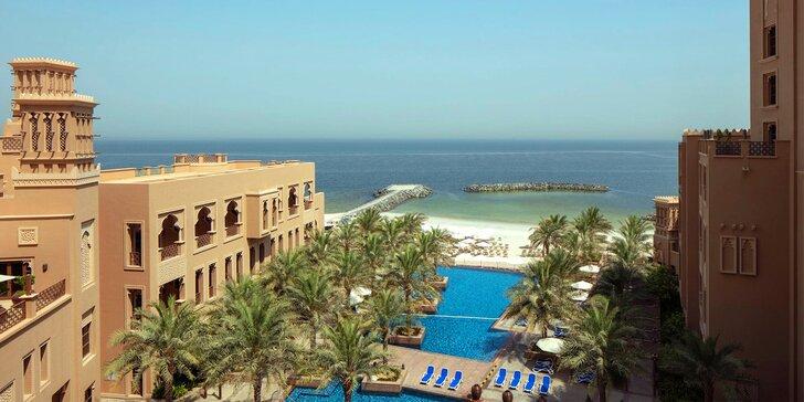 Dovolená v emirátu Sharjah: 4–9 nocí v 5* hotelu s plnou penzí, 50 m od pláže
