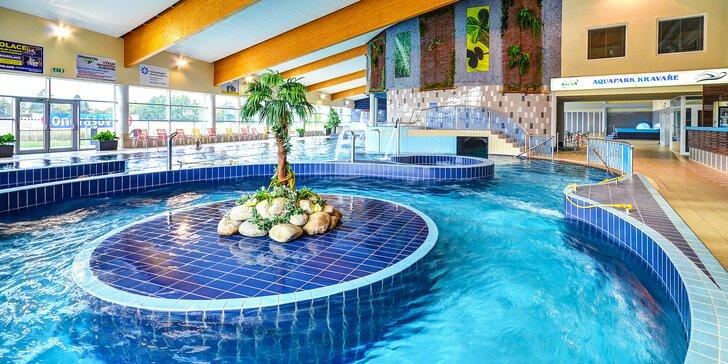 Vodní radovánky v Aquaparku Kravaře: vstup pro 2 dospělé i celou rodinu