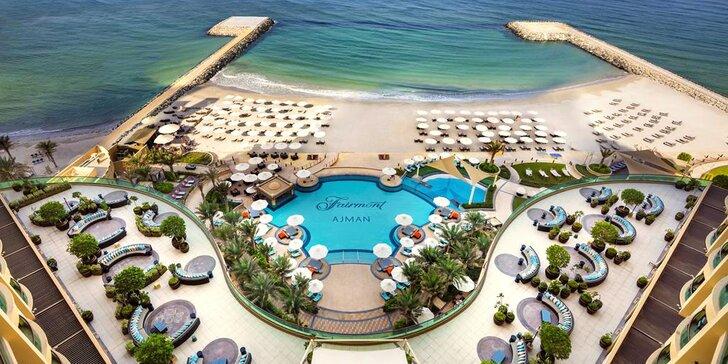 Boží dovolená v emirátu Ajman: 4–9 nocí v 5* resortu u pláže s all inclusive