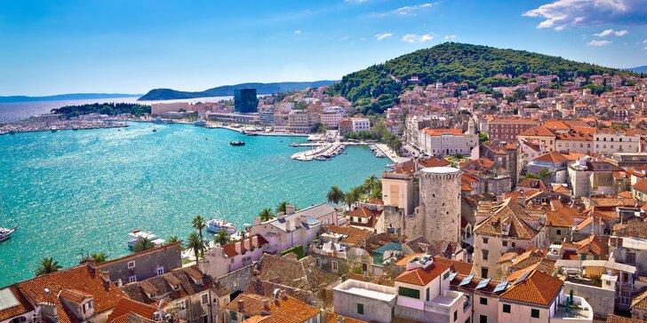 Poznávací zájezd do Chorvatska: Dubrovník, Split, národní park Krka i Šibenik