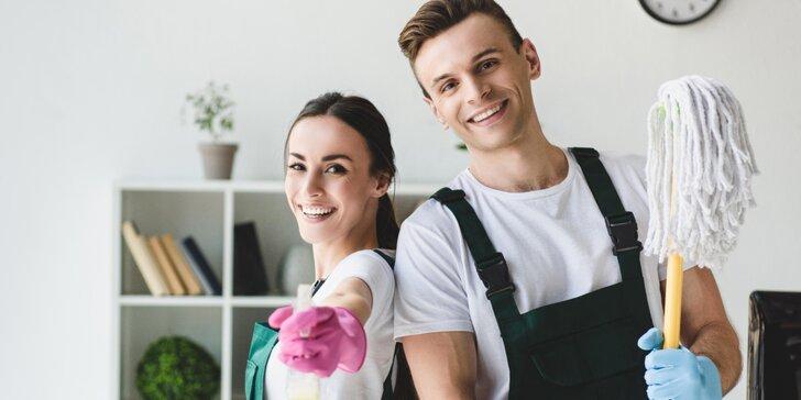 Profesionální úklid domácnosti včetně mytí oken: 2 nebo 4 hodiny