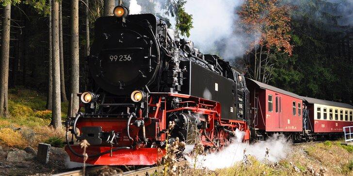 Výlet do Saska: parním vlakem ke skalnímu hradu v Žitavských Alpách