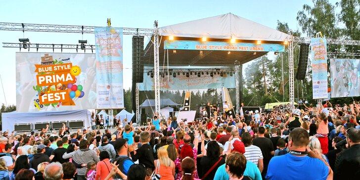 BLUE STYLE PRIMA FEST: festival pro celou rodinu ve westernovém městečku