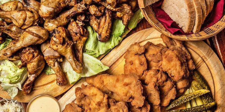 All you cen eat v centru Brna: řízečky, paličky i křidélka každou sobotu večer