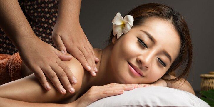 Luxusní jarní relaxace: 100 minut masáže dle výběru v salonu Thai Sun