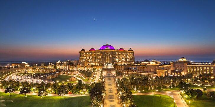 Luxusní dovolená v Abú Dhabí: 4–9 nocí v 6* resortu, polopenze a komorník