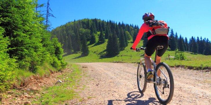 Klid a pohoda na samotě u lesa: 3 dny s polopenzí pro aktivní dovolenou