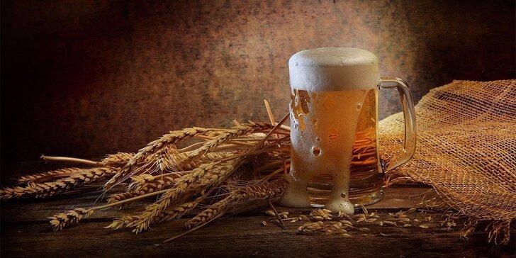Žižkovský pivovar Victor: exkurze a ochutnávka 3 vzorků pro 2 i chuťovky