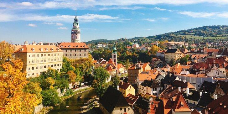 Penzion v Krumlově u zámku: polopenze, bazén, káva i welcome drink