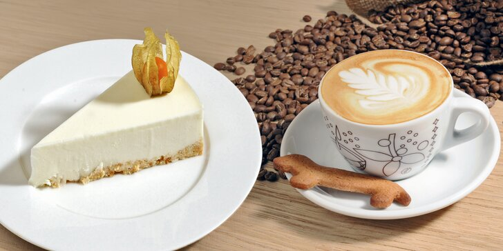 Zastavte se v Elvíře, je tu krásně k nevíře: skvělý dort a nápoj pro 1 či 2 os.