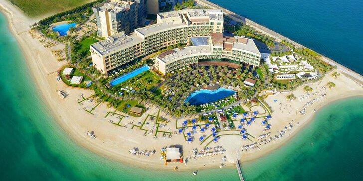 Ráj a pohoda v exotické Dubaji: 4–9 nocí v 5* plážovém resortu s polopenzí