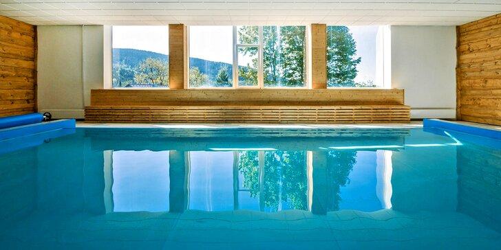 Relaxace na Šumavě: polopenze i neomezený vstup do vyhřívaného bazénu