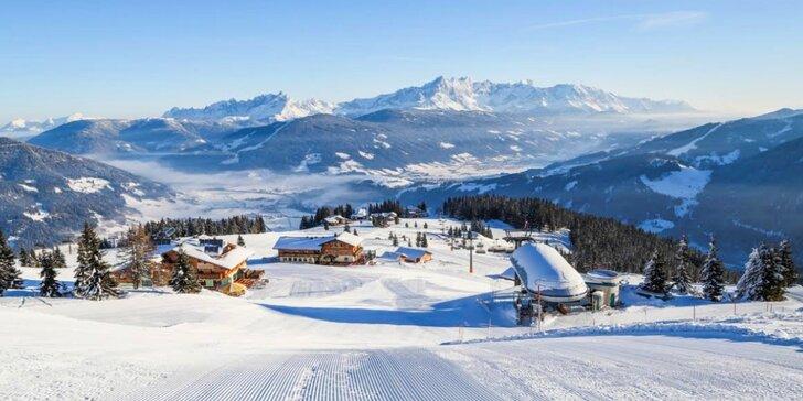 Lyžování či jarní dovolená v rakouských Alpách: 4 dny ve Ski Amadé Flachau