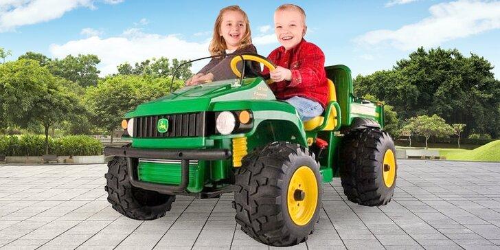 Zapůjčení elektrických dětských vozítek: 10, 30 minut i celý den