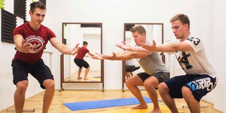 Individuální lekce pohybového tréninku vč. diagnostiky: 1, 3 a 5 lekcí
