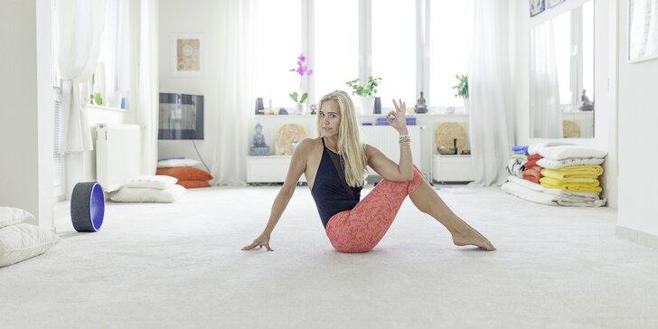 Zacvičte si: 1–20 lekcí jógy nebo pilates podle výběru v centru Prahy