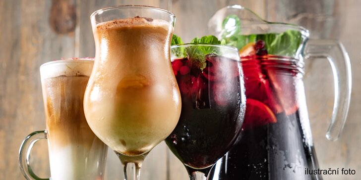 Dejte si drink v centru Prahy: Aperol, limonáda, cappuccino i ledové latte