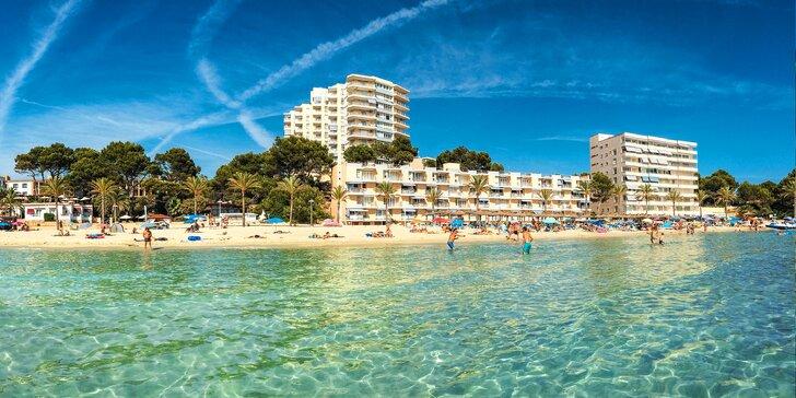 Dovolená na Mallorce: letecká doprava, výběr ze 3 hotelů u pláže, polopenze