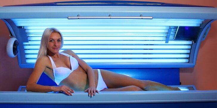 Původní: Krásně opalené tělo i v zimě - permanentka do solária