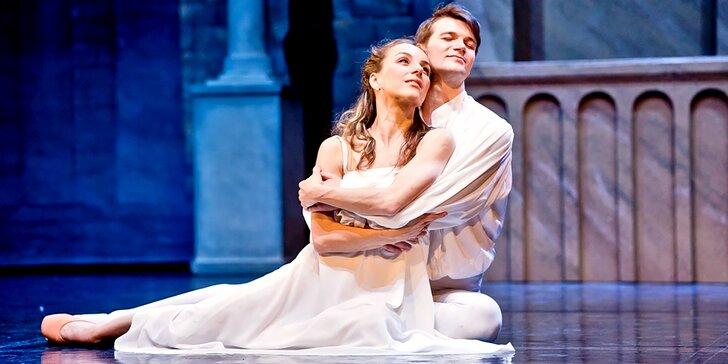 Romantické baletní představení Romeo a Julie v divadle Hybernia