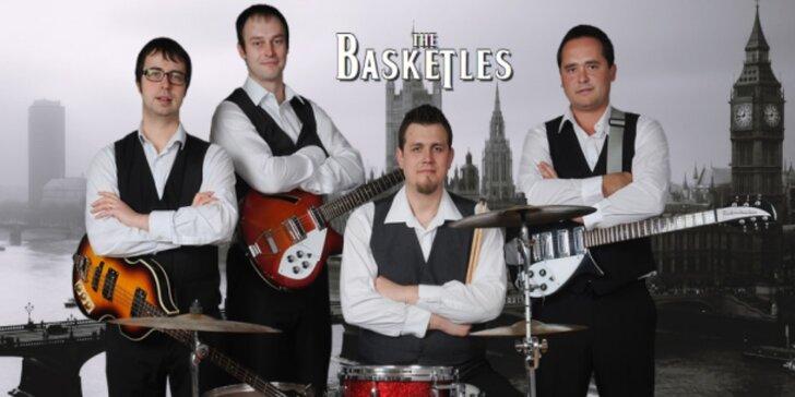 Beatles Revival! live se skupinou The Basketles v KD Rubín